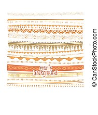Background in ethnic style