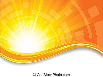 Background in orange color