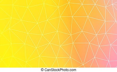 Background in polygonal pattern with triangles style....
