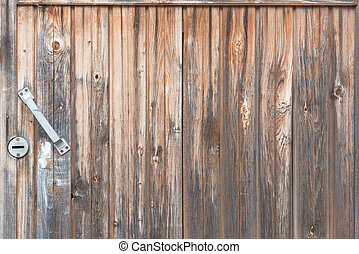 Background in style a rustic from old vertical wooden...