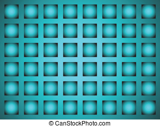 Background in the form of a lattice in blue tones