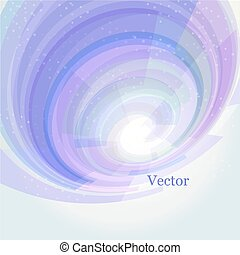 background in the form of a spiral. Vector illustration