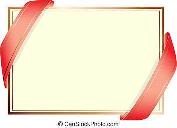 Traditional Wedding Card Background