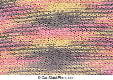 Background, knitted fabrics