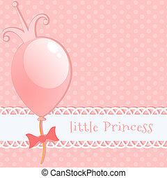 Background little princess