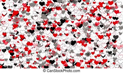 Background Loop With Hearts