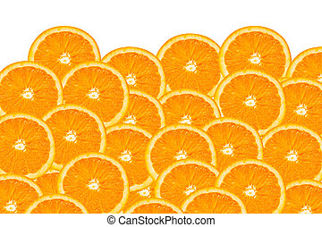 orange slices - background made of a close-up of orange ...