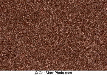 Background made of brown decorative sand.