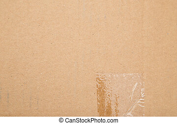 background made ??of cardboard