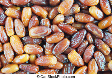 Background made of dates