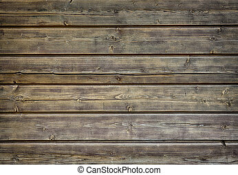 Background made of horizontal boards