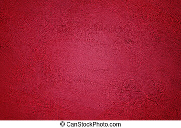 Painted Wall in Magenta Color