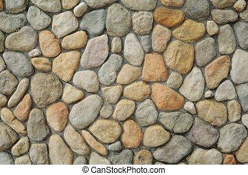 background masonry smooth stones