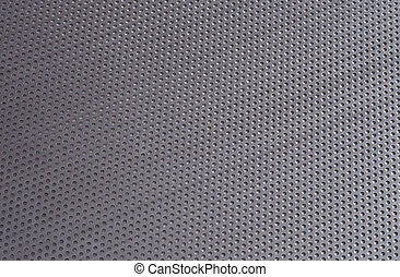 metal background with holes;
