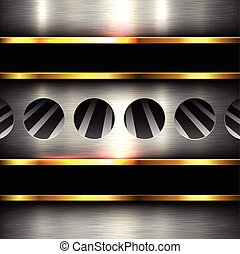Background metal texture