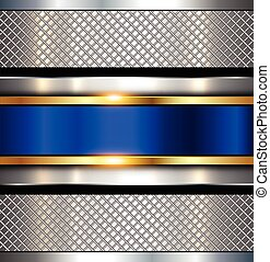 Background metallic, shiny metal texture