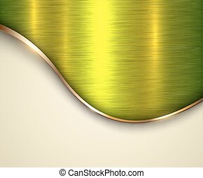 Background metallic texture