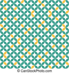 Background mosaic geometric abstract vector