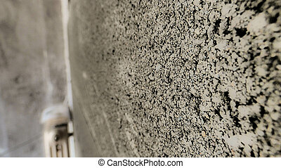 background of a concrete wall. with a blurry background