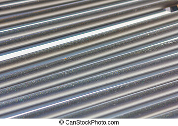 Background of a corrugated metal sheet