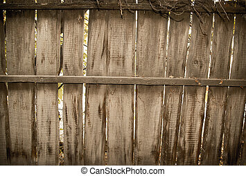background of a wooden fence