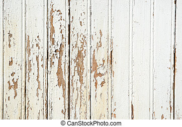 Background of an old cracked wooden wall