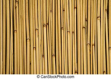 background of bamboo sticks