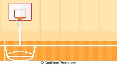 Background of basketball court. - Background of basketball...