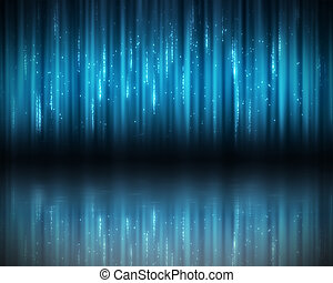 Background of blue lines - Background of vertical blue lines