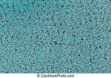 blue napkin close-up