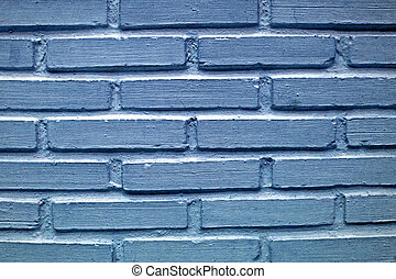 Background of blue stone wall texture