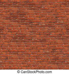 Background of Brick Wall Texture. - Dark Red Brick Wall...