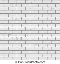 Background of Brick Wall Texture Seamless Pattern Vector...