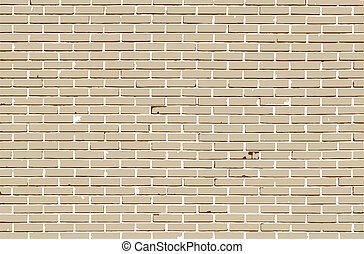 Background of brick wall, vector