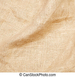 Background of burlap hessian sacking