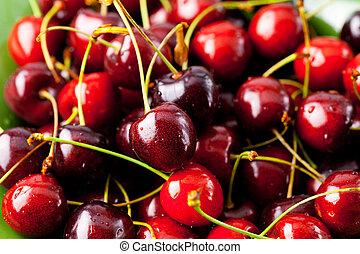 background of cherry