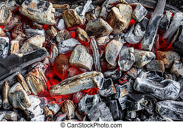 Background of coals