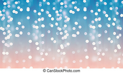 Background of colorful blurred backdrop lamps