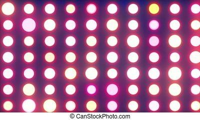 Background of colorful glowing circles