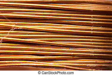 Background of copper wire