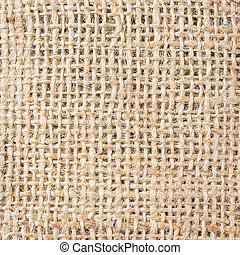 Background of crumpled burlap
