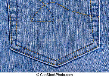 Background of denim.
