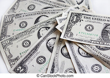 background of dollar bank notes