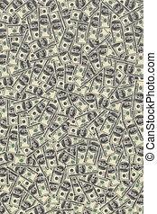 background of dollars fine