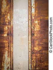 background of door.