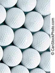 Background of golf ball