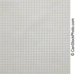 Background of graph paper.