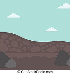 Background of heaps of coal. - Background of heaps of coal...