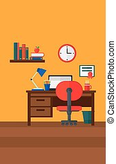 Background of interior of room for pupil. - Background of ...