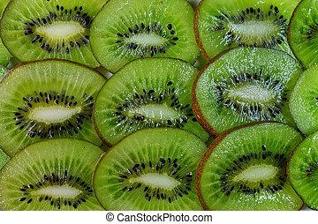 background of kiwi